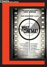 What Is Cinema - The Great Filmmakers And Their Craft -  DVD - New!