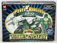 Autographed Power Rangers Zeo Green Ranger Zeo Jet Cycle IV 1996