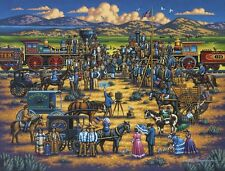 Jigsaw puzzle American History Golden Spike Promontory 500 pc NEW Made in USA