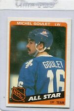 1984-85 Topps #153 Michel Goulet NORDIQUES All-Star