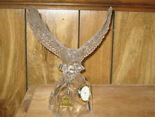 Eagle Landing Crystal Clock Oneida sold by Boy Scouts of America