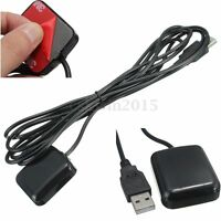 USB GPS Receiver For Car Laptop PC NetBook Navigation GPS Mouse Antenna Channels