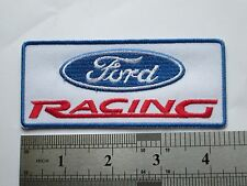 Ford Racing sew on / iron on patch  badge NEW car mechanic UK seller car van