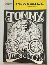 Tommy - May 1972 Playbill - Les Grands Ballets Canadiens