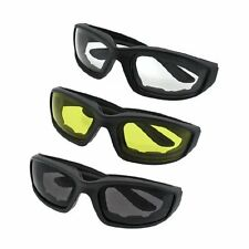 3 Pairs Motorcycle Wind Resistant Outdoor Cycling Riding Glasses Sunglasses mp