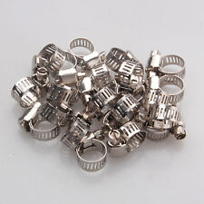 10x Colliers de Serrage Clamp à Ressort pour Tuyau Carburant Essence 25mm Nuef
