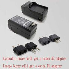 e-Battery Charger For Panasonic VW-VBK180 VW-VBK360  VW-VBY10