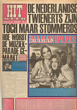HITWEEK 1967  nr. 16 - MAMA'S & PAPA'S/JAN CREMER