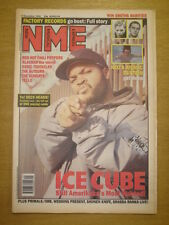 NME 1992 DEC 5 ICE CUBE CHILI PEPPERS AUTEURS SUNDAYS