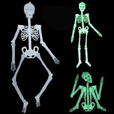 Halloween Luminous Human Skeleton Hanging Decoration Party Scary Skull Decor