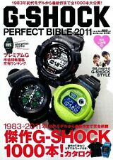 G Shock Perfect Bible 2011 book guide casio frog rise mrg giez