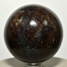 "2.2"" Natural Blue Iolite Sphere ""Water Sapphire"" Crystal Mineral Ball - India"