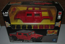 Maisto 1:27 Hummer Soft Top Assembly Line Die-Cast Metal Model Kit NEW Skill 2