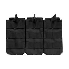 NcStar CVAR3MP2928B BLACK Holds 3 AR Style 5.56/223 or 7.62x39 Mag Pouch