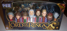 Frodo Samwise Gandalf Aragorn Legolas Gollum FIGURES ~ LORD OF THE RINGS PEZ Set