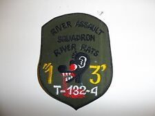 b7257 US Navy Vietnam River Assault Squadron 13 T132 Boat PBR Brown Water IR27E