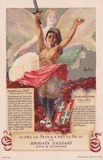 C4029) WW1 BRIGATA SASSARI, 151 E 152 REGGIMENTO FANTERIA.