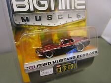 JADA 1/64 BIGTIME MUSCLE 1970 FORD MUSTANG BOSS 429 HOT ROD NEW *READ*