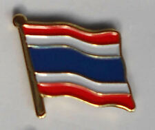 Thailand Country Flag Enamel Pin Badge
