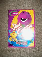 Barney - Just Imagine (DVD, 2005) EUC
