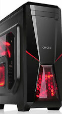 Circle CC819 Professional Gaming Cabinet (Black)