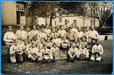 CPA PHOTO: 168° Régiment d'Infanterie - La 2° Compagnie au Pluche