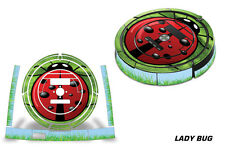 Skin Decal Wrap For iRobot Roomba 860/870/880 Vacuum Sticker Accessories LADYBUG