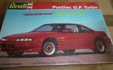 REVELL PONTIAC G.P. TURBO (GRAND PRIX) 1/25 Model Car Mountain VINTAGE FS