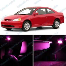 Pink Honda Interior LED Package For Civic  2001-2005 (6 Pieces) #608