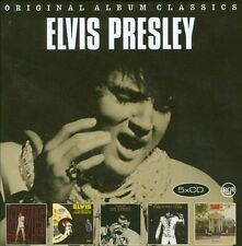 ELVIS PRESLEY 5CD NEW 68 Comeback/Aloha From Hawaii/On Stage/That's Way/Memphis