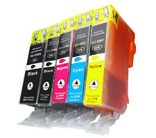 5X New EDIBLE Ink inkjet for Canon PGI-225 CLI-226 Pixma MG5220 MG5320 MG6120