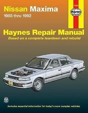 Haynes Manuals: Nissan Maxima, 1985-1992 by John Haynes and Ken Freund (2000,...