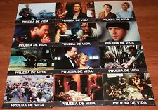 Russell Crowe Meg Ryan lobby card set 12 Proof of Life