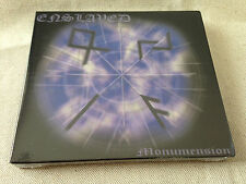 ENSLAVED - Monumension LTD ED SLIPCASE CD BRAND NEW & SEALED! (Original Press)