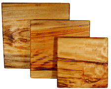 Chopping Board - Camphor Laurel 250mm x 250mm small medium large square cutting