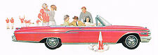 1962 Mercury MONTEREY / COMET Brochure / Flyer / Catalog: COLONEY PARK WAGON,
