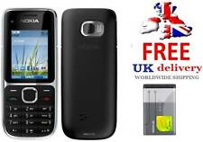New condition C2-01 Nokia Brand 3G Unlocked Bluetooth Camera Easy Mobile Phone