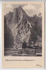 AK Vomp, Hinterriss, Falkenhütte m. Lalidererspitze 1960