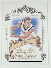 2015 STEPHEN CURRY SETH CURRY DUAL RETRO RESERVE PREMIUM PAIRINGS SP /25
