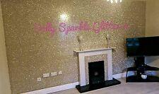 Grade 3 champagne gold glitter tissu vendu par mètre longueur & largeur 132cm