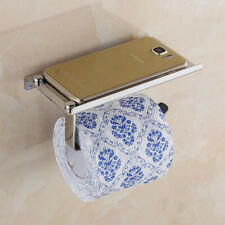 Stainless Steel Roll Paper Phone Holder Towel Rack Toilet Bath Accessories Cheap