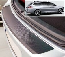 Peugeot 308 SW MK2 - Carbon Style rear Bumper Protector
