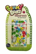 SAKAR Rubber Gummy Case GUMMY BEARS 4th Generation FOR iPOD TOUCH Paint Splatter
