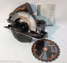 "Ridgid R8652 NEW GEN5X cordless 7-1/4"" 18V circular saw with blade 18 Volt"