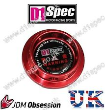 D1 SPEC FORGED OIL FILLER CAP C RED SUBARU IMPREZA WRX STI GX LEGACY FORESTER