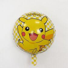 Pikachu Pokemon birthday balloon - Happy birthday, party, catch em all, 18 Inch