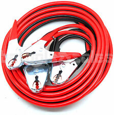 25FT 2 Gauge Hd Booster Cable Jumping Cables Power Jumper 600 AMP Storage Pouch