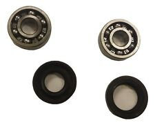 ukscooters LAMBRETTA FRONT HUB WHEEL BEARINGS WITH OIL SEALS X 2 NRB NEW