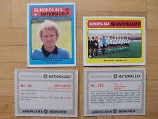 Americana Bilder 640er Serie BUNDESLIGA – NATIONALELF 1 Bild auswählen von allen