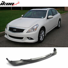 10-13 Fit For Infiniti G37 Sedan 4Dr OE Style Front Bumper Lip Urethane